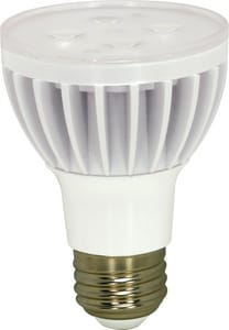 Satco 120V Dimmable Light Bulb in White SS9014