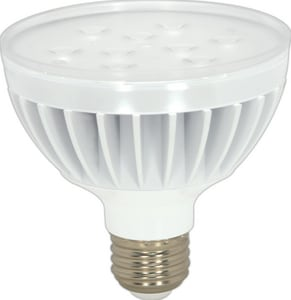 Satco PAR30 Medium E-26 Base LED Light Bulb in White SS9017