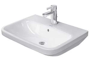 Duravit USA DuraStyle 3-Hole Wall Mount Washbasin in White Alpin D2319600030