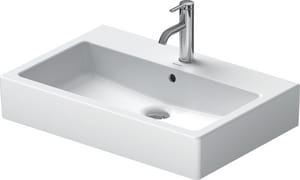 Duravit USA Vero® 1-Hole Lavatory Sink in White Alpin D04547000001