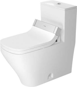 Duravit USA Durastyle 1.6 gpf Elongated Toilet in White Alpin D2157510005