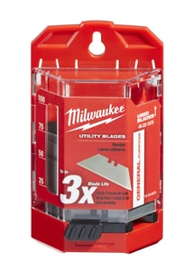 Milwaukee 75-Piece General Purpose Utility Blade with Dispenser M48221975
