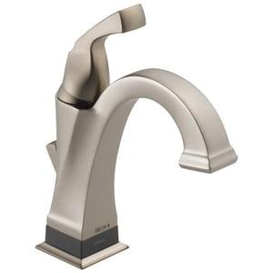 Delta Faucet Dryden™ 1.5 gpm 1-Hole Single Lever Handle Centerset Lavatory Faucet D551TDST