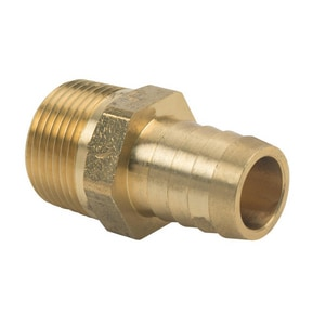 Brass Craft ID x MIP Brass Hose Barb Adapter B1251212X