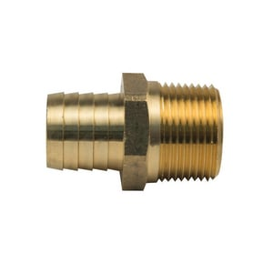 Brass Craft Hose Barb x MIP Brass Hose Adapter B125X
