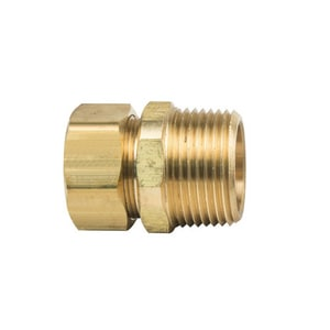 Brass Craft OD x MIP Brass Compression Union B681416X