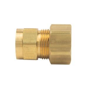 Brass Craft OD Tube x FIP Brass Compression Union B6610