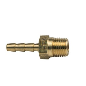 Brass Craft ID x MIP Brass Hose Barb Adapter B125X