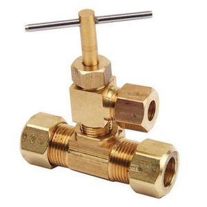 Brass Craft OD Compression x MIP Humidifier Angle Valve BNV104EE1XK1