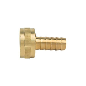 Brass Craft Hose Barb x FHT Brass Hose Adapter BHU126812X