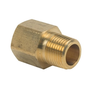 Brass Craft FIP x MIP Brass Pipe Adapter B1208X