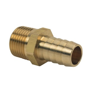 Brass Craft ID x MIP Brass Hose Barb Adapter B12552X