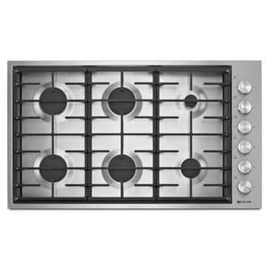 Jennair 36 in. 6 Sealed Burner Gas Cooktop JJGC7636B