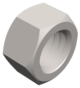 PROSELECT® 3/4 x 10 in. Zinc Plated Thread G2 Hex Nut PS000317EA