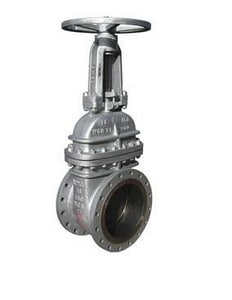 Newco Valves Figure 13F Cast Carbon Steel Flanged Gate Valve N13FCB3