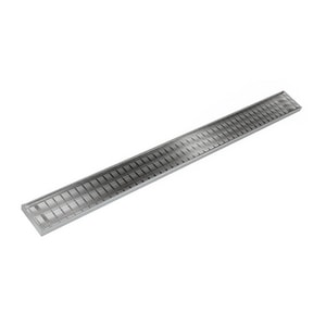 Infinity Drain 95-1/2 in. Shower Drain Complete Kit in Polished Stainless ISAG10096PS