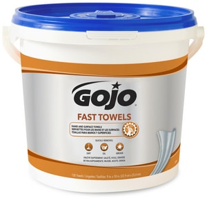 Gojo Fast Wipes® 130-Bucket Fast Head Hand Towel G629804