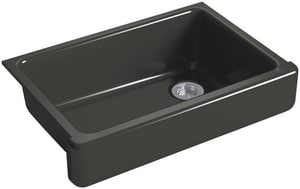 Kohler Whitehaven® No-Hole 1-Bowl Kitchen Sink with Short Apron K5826