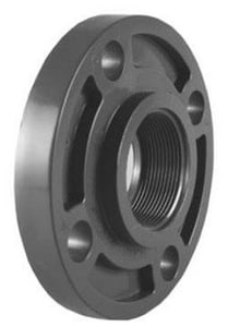 TrueFit® 2 in. 150# Threaded Schedule 80 Webb PVC Flange P80TFK at Pollardwater