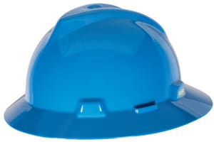V-Gard® Ratchet Protective Hat with Non-Slotted Strap MSA47536
