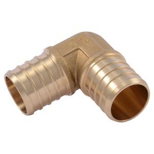 Brass Barbed PEX Elbow SUC2LF