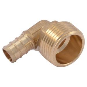 Brass;Plastic MNPT PEX Elbow SUC2