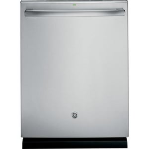 General Electric Appliances 24 in. Tall Tub Internal Dishwasher With Hidden Control in Stainless Steel GGDT580SSFSS