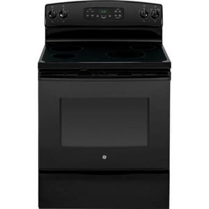 General Electric Appliances 29-7/8 in. 12.3kW 4-Burner Freestanding Electric Range GJB630DF