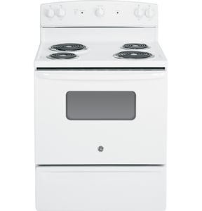 General Electric Appliances 30 in. Free Standing Electric Range With Coil Burner 240V GJBS10DF