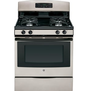 General Electric Appliances 30 in. Natural Gas Self Cleaning Free Standing Range GJGB620DEF