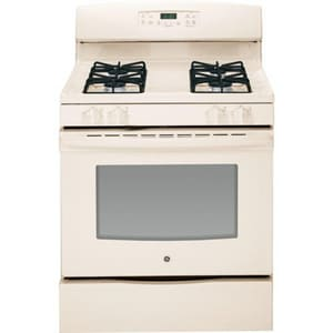 General Electric Appliances 30 in. 4-Burner Natural Gas Self Cleaning Free Standing Range GJGB630DEF
