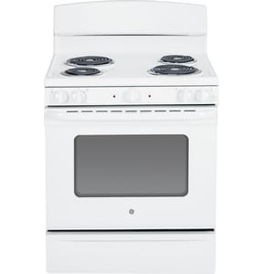 General Electric Appliances 30 x 28-3/4 in. Electric Standard Clean Free Standing Range GJBS45DF