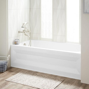 Mirabelle® Bradenton 59-3/4 x 30 in. 48 gal 3-Wall Alcove Bathtub with Right Hand Drain MIRBDS6030R