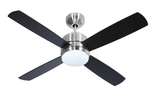 Craftmade International Montreal 49W 4-Blade Ceiling Fan with 44 in. Blade Span and 1-Light CMN444