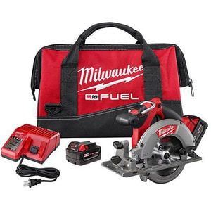 Milwaukee 18 V 6-1/2 in. Circular Saw Kit with Battery M273022