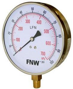 FNW Contractor Pressure Gauge FNWXG0