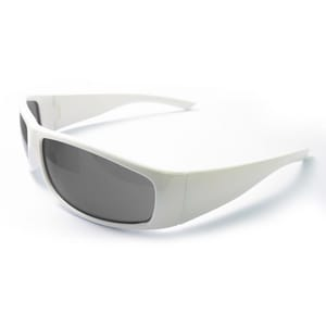 ERB Safety Boas Xtreme Nylon Safety Glasses with White frame EE17928FEI