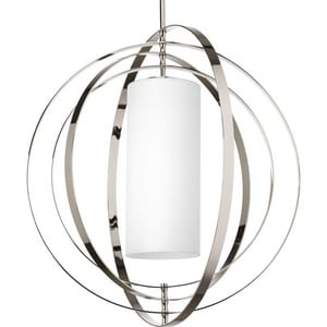 Progress Lighting Equinox 100W 2-Light Medium Foyer Pendant PP7086104