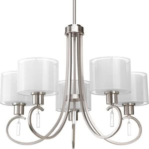 Progress Lighting Invite 5 Light 100W Chandelier PP4696