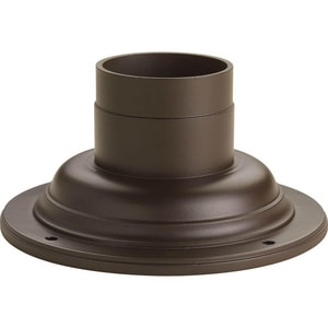 Progress Lighting Outdoor Pedestal Mount Adapter PP8726