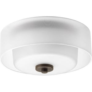 Progress Lighting Invite 100W 2-Light 120V Flushmount Ceiling Fixture PP3693