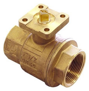 FNW 600 WOG 2-Piece Forged Brass Threaded Full Port Isolation Ball Valve FNWX440
