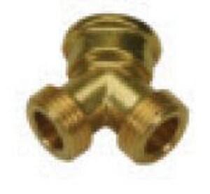 PROFLO® 3/4 in. FHT x MHT Hose Brass Wye PFXHWFF