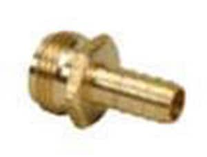 PROFLO Barbed x FHT Brass Hose Adapter PFXBFBRHAF