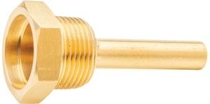 H.O. Trerice 3/4 x 2-1/2 in. Brass Bimetal Thermowell T764D2PBF