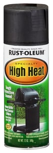 Rust-oleum 12 oz. High-Heat Barbeque Spray Paint in Black R7778830 at Pollardwater
