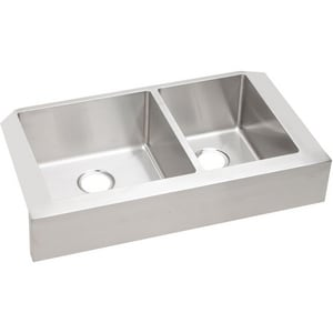 Elkay Crosstown™ 31-1/2 x 18-1/2 in. 60/40 Double Bowl Apron Front Sink EECTRUF32179R