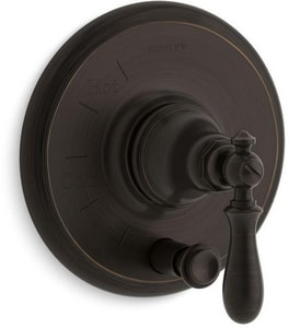 Kohler Artifacts® Valve Trim with Push-Button Diverter and Single Swing Lever Handle KT72768-9M