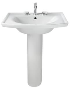 American Standard Tropic® Vitreous China Pedestal Lavatory Sink A0404008