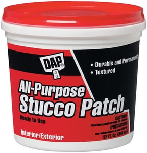 DAP 1 qt Stucco Patch in White D10504